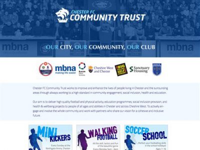 Community Trust Website 1