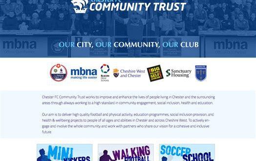 Community Trust Website 1