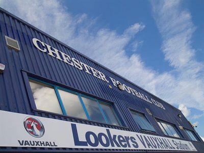 Lookers Vauxhall Stadium Front