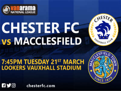 Macclesfield (H) Fixture Poster