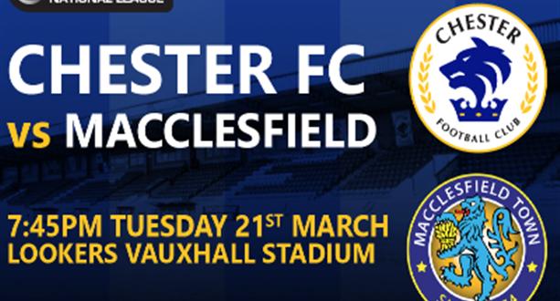 Macclesfield (H) Fixture Poster