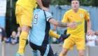 Kingsley James nods home the second goal