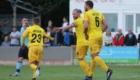 Kingsley celebrates his goal