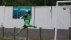 Liam Davies finds the net in style