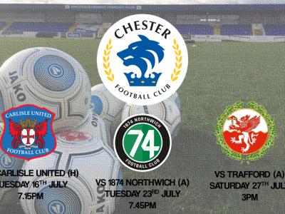 fe848510a Chester Football Club – Official Website » Pre-Season